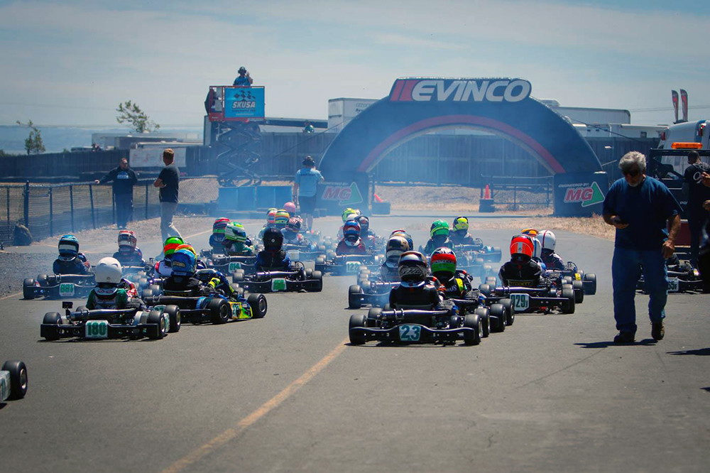 SUPERKARTS USA PRO TOUR HAS ROUND HELD IN CALIFORNIA AND TIRES PROVIDED BY MG TIRES