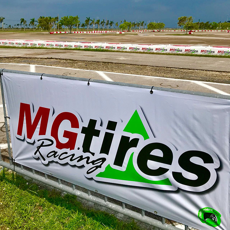 MG TIRES VISITED HOMESTEAD KARTING CENTER IN FLORIDA