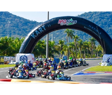 MG TIRES ORGANIZES ITS LOGISTICS AND STRUCTURE TO SERVE COMPETITORS OF EIGHT COUNTRIES IN THE SOUTH AMERICAN KART CHAMPIONSHIP