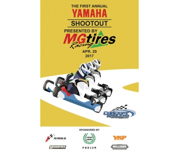MG TIRES IS EXCLUSIVE SUPPLIER OF THE 1ST YAMAHA SHOOTOUT, IN THE UNITED STATES